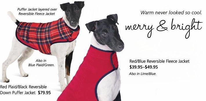 Reversible Dog Jackets
