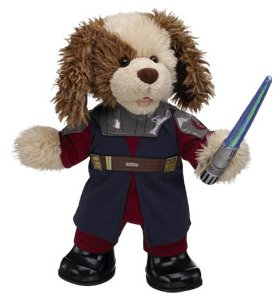 Anakin Skywalker teddy costume