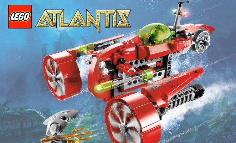 LEGO Atlentis Toys