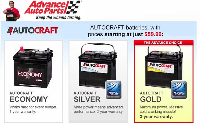 Oct 17,  · Went in advance auto parts a couple of weeks ago and purchased there silver brand battery around dollars.I knew the guy who looked up battery for me on their computer for model type for my layoffider.ml i purchased battery i asked him to install it for me[my truck].They do this for you when you buy a battery from layoffider.mls the guy goes and starts taking mine old battery out and 1/5.