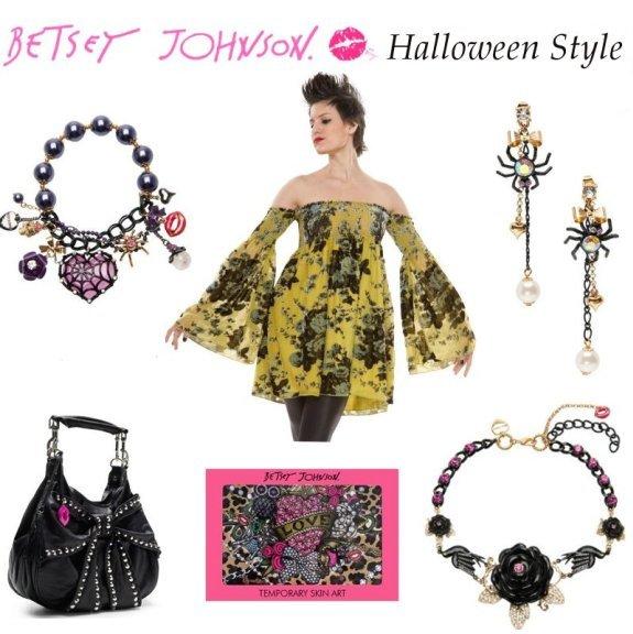 Betsey Johnson Halloween style