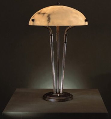 Calavera Shaded Table Lamp