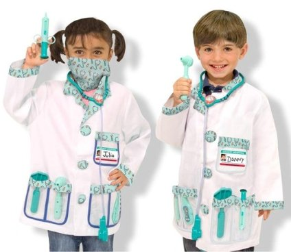 Doctor kid Halloween Costume