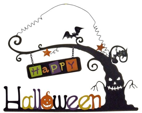Halloween Metal Wall Decor