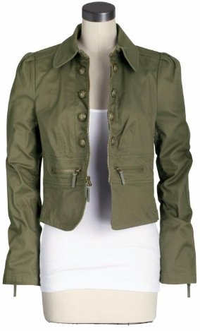 Juicy Couture Skyler Military Jacket