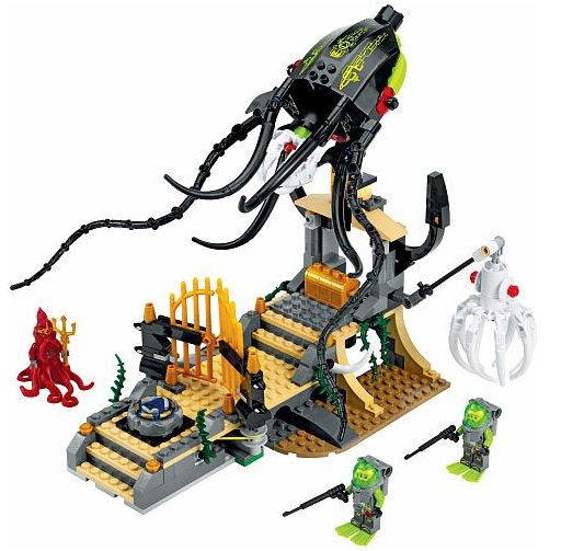 LEGO Atlantis Gateway of the Squid