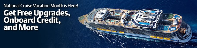 National Cruise Vacation Month