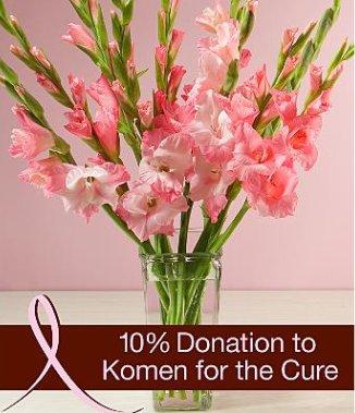 Pink Ribbon Gladiolus