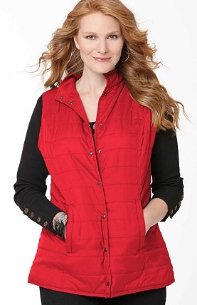 plus size women vest