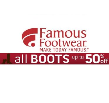 Save Big on Famous Footwear Boots