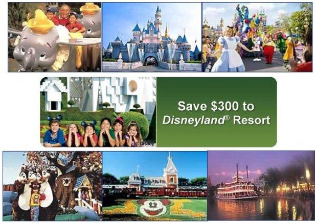 Save Big to Disneyland Resort Vacation Package