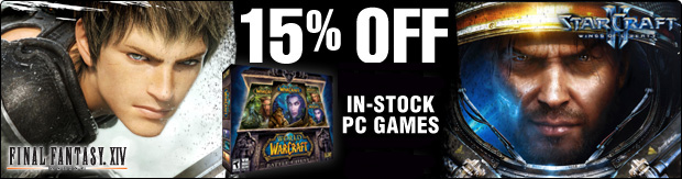 Save Big  on GameStop's In-Stock PC Games