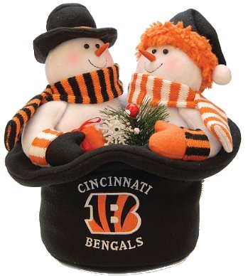 SC Sports Cincinnati Begals Plush Top Snowmen Hat