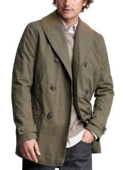shawl collar trench coat