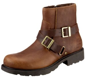 skechers boots twist zip buckle up