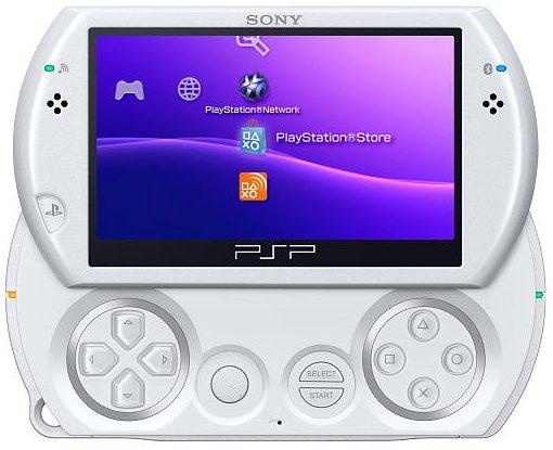 sony psp go handheld gaming system