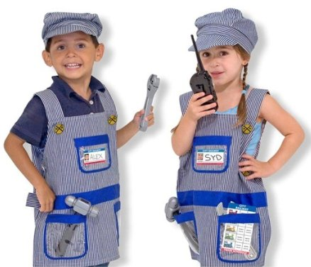 Train Engineer kid Halloween Costume