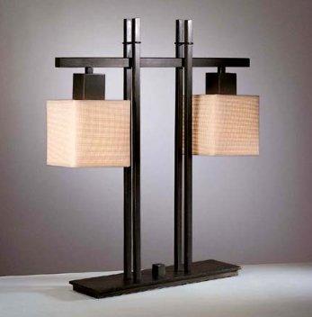 Torrl Two-Light Table Lamp