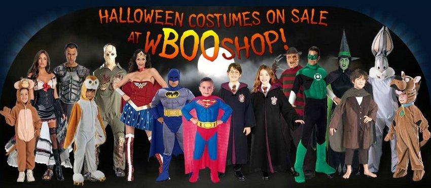 warner brothers halloween costumes