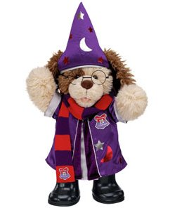 teddy wizard costume