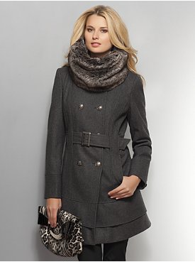 Classic Wool Trench Coat