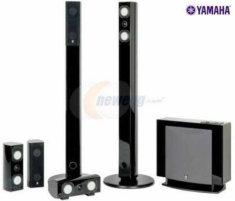 yamaha ns-sp7800pn home theater speaker system