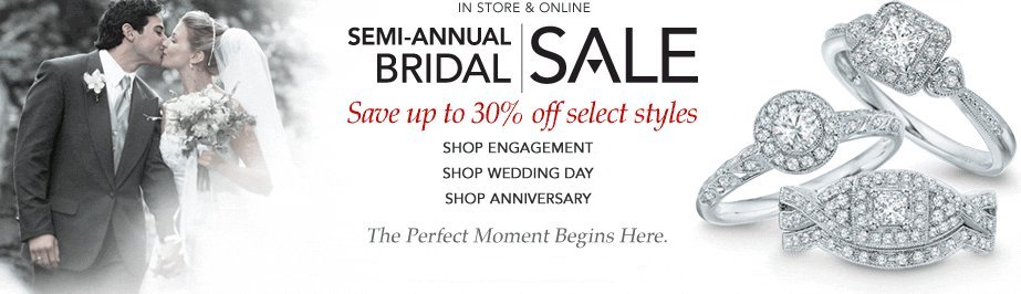 zales semi-annual bridal sale