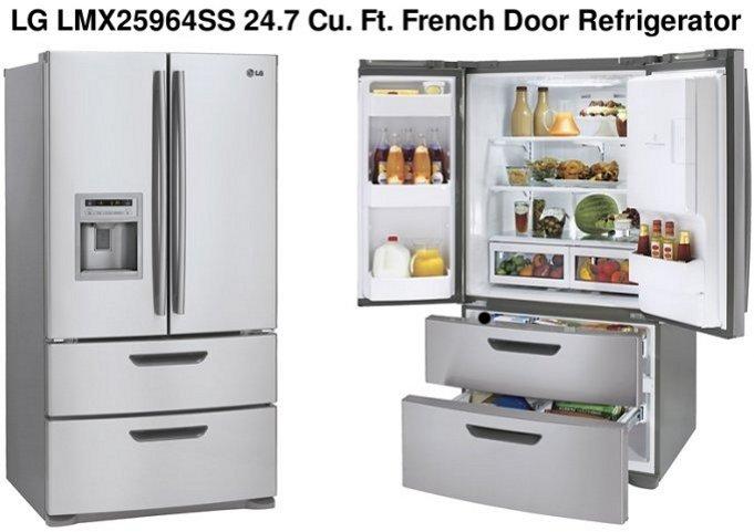 French Door Refrigerators 4 Door French Door Refrigerator Lg