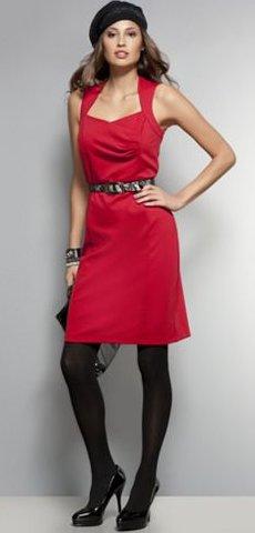 NYandC Red Label Sheath Dress