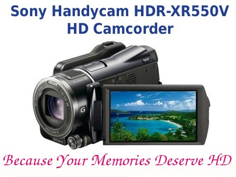 Sony Handycam HDR-XR550V HD Camcorder