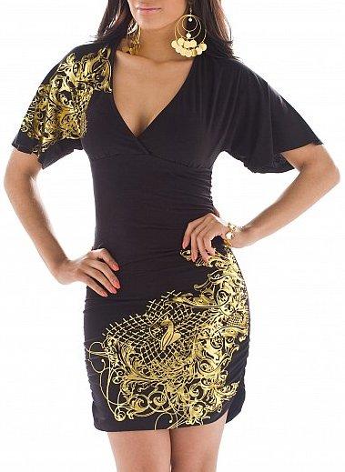 Angel Sleeve party Dress