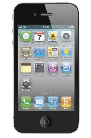 Apple - iPhone 4 with 16GB Memory - Black