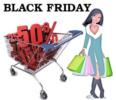 Shop Online for Black Friday