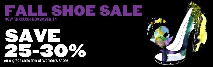 bloomingdales fall shoe sale