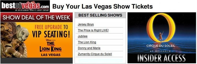 Best of Vegas Shows