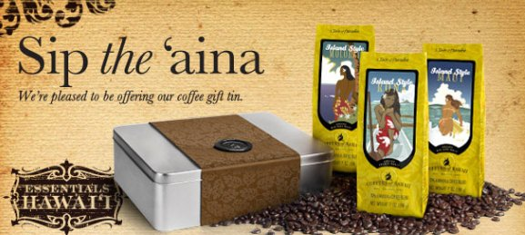 Coffee Gift Tin