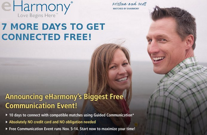 eharmony free communication event