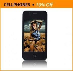 "Ephone 4GS WIFI Dual Sim Dual Camera 3.5"" Touchscreen Cellphone"