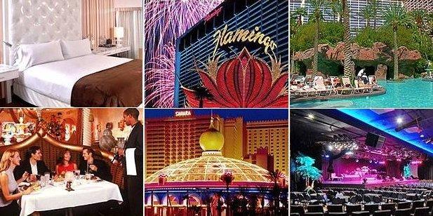Flamingo and Shara Hotels of Las Vegas