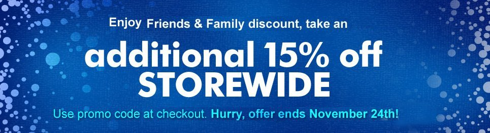 Fox Shop Friends & Family Savings