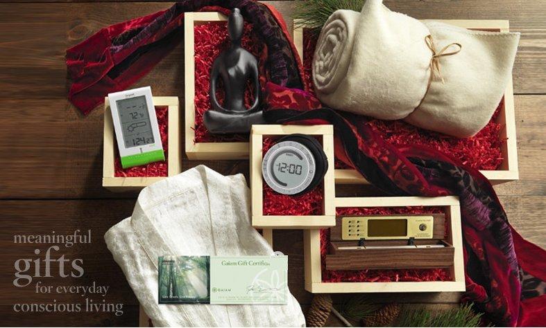 Gaiam green gifts ideas