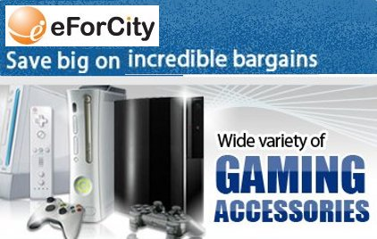 eForCity Gaming Accessories