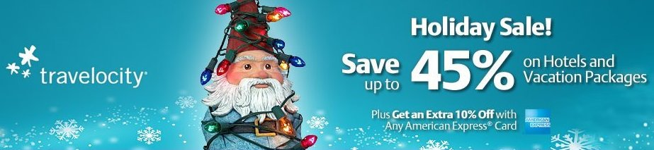 Travelocity Holiday Sale!