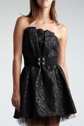 Jacquard Tube Dress