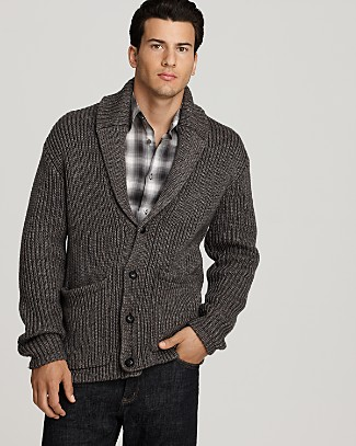 John Varvatos designer men Cardigan