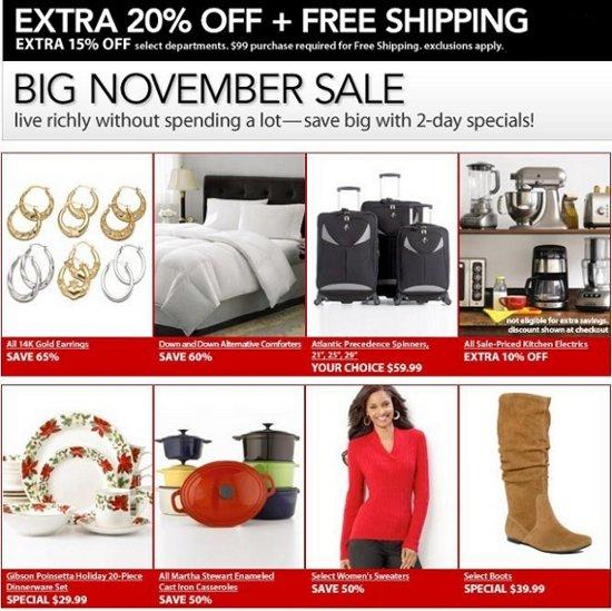 macys big november sale
