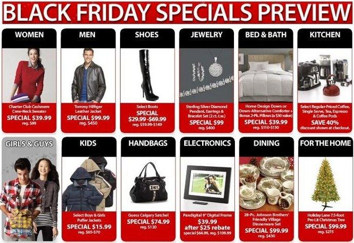 macys black friday specials