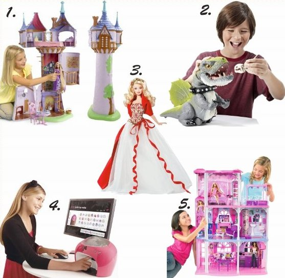 mattel top holiday toys
