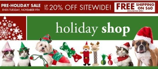 Petco Holiday Shop