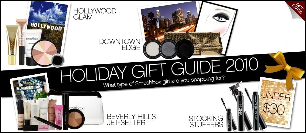 Smashbox 2010 Holiday Gift Guide